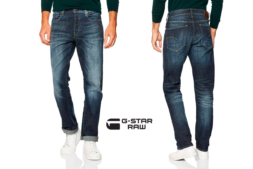 pantalones G-Star Raw 3301 straight baratos