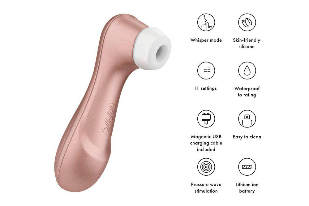 Satisfyer Estimulador de Clítoris Pro 2 Next Generation