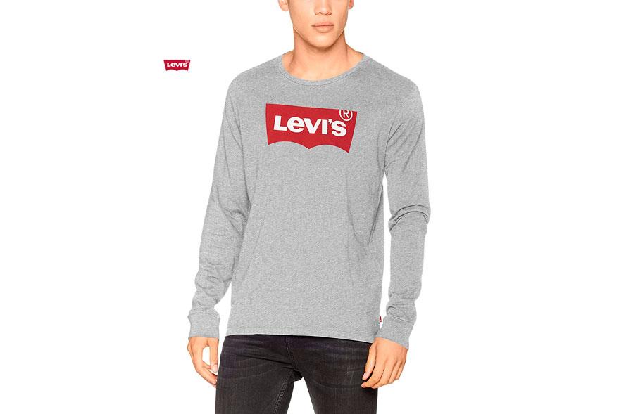 camiseta Levis mangas largas barata