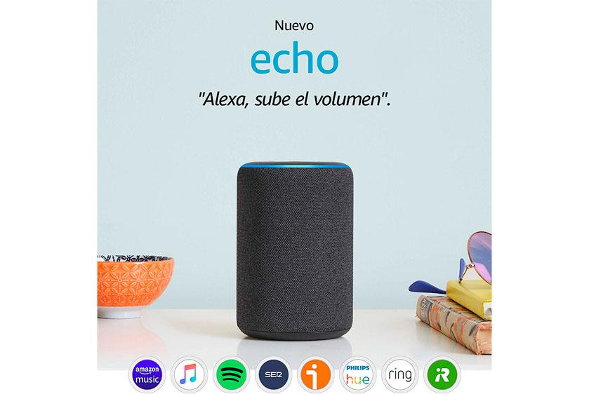 nuevo Amazon Echo 3ª generación barato