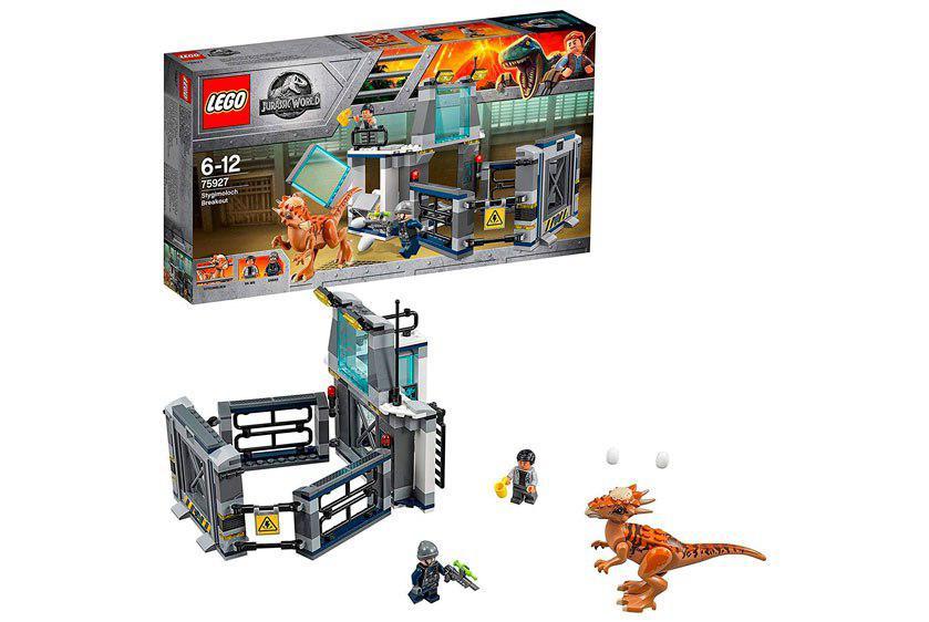 Lego Jurassic World fuga del Stygimoloch barato