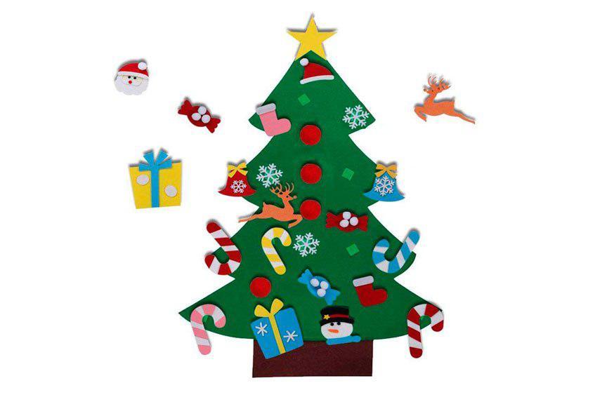 árbol Navidad fieltro barato