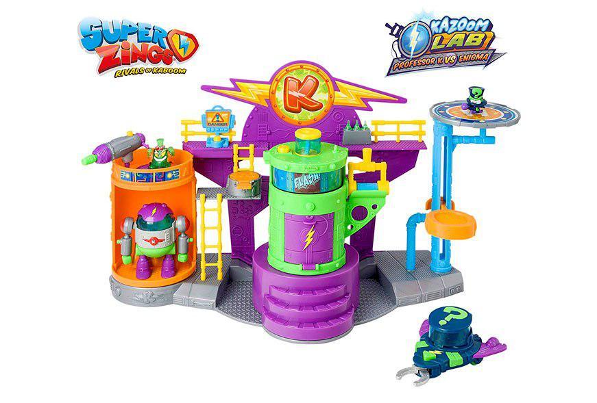 Superzings kazoom lab battle barato