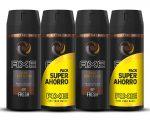 Pack 4 Desodorantes AXE Dark Temptation baratos 8,24€¡¡Precio mínimo!!