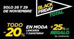 Empieza Black Friday El Corte Inglés ¡Sólo 2 días para acumular +25% Regalo en moda!