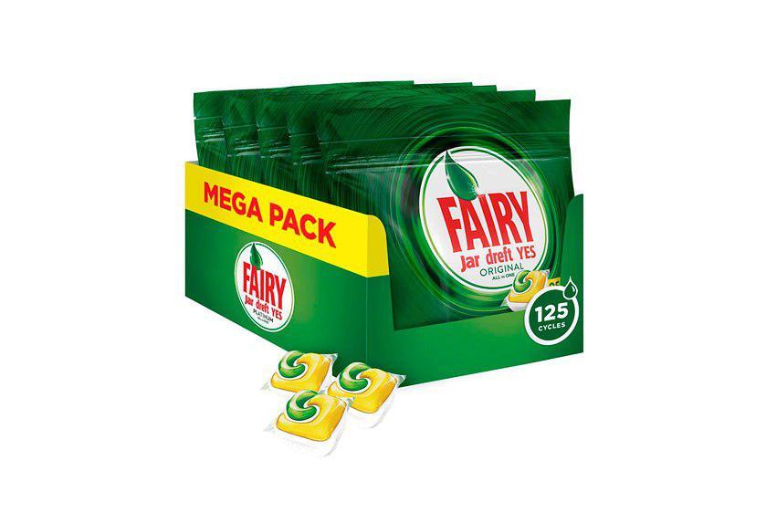 125 pastillas lavavajillas Fairy original limon baratas