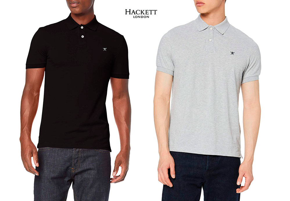 Hackett London Slim Fit Logo Polo