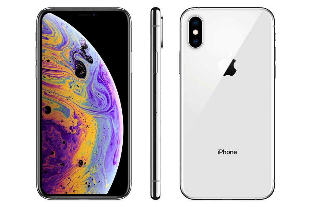 Apple iPhone XS (64GB) - Plata
