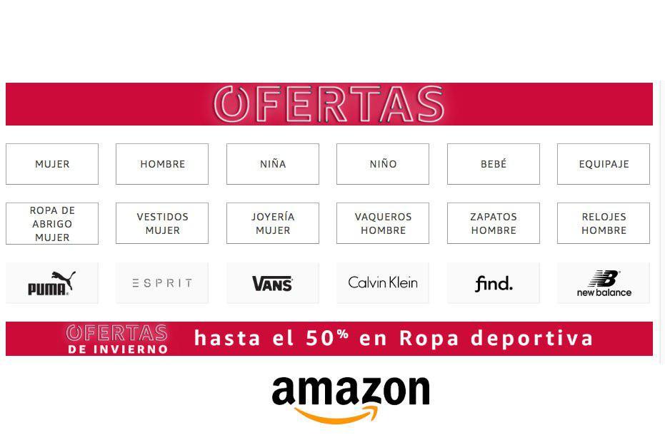 ¡Ofertas de invierno Amazon! Hasta -50% descuento moda