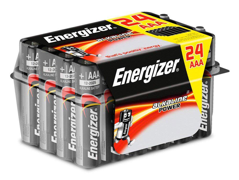 pack 24 pilas Energizer E92 baratas