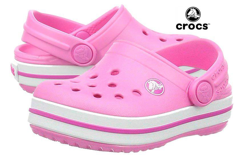 zuecos Crocs Crocband Clog Kids baratos