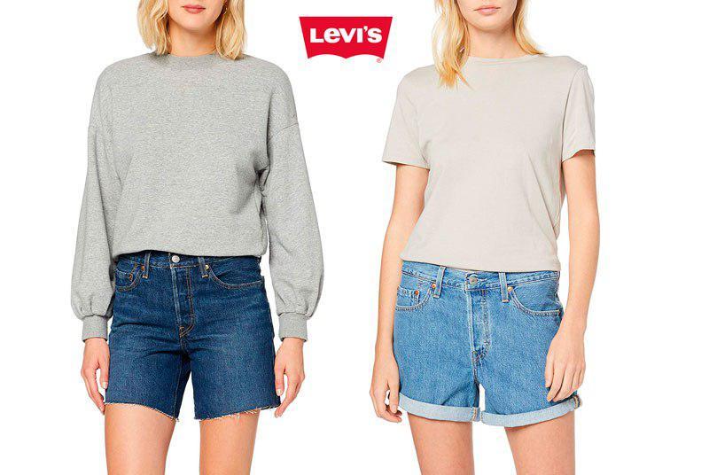 shorts Levis 501 baratos