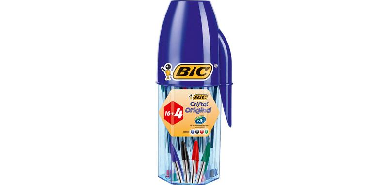 20 bolígrafos BIC baratos
