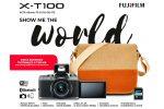 Cámara Evil Fujifilm X-T100 con Objetivo XC 15-45 MM + Funda SDHC16 por 299€ antes 599€