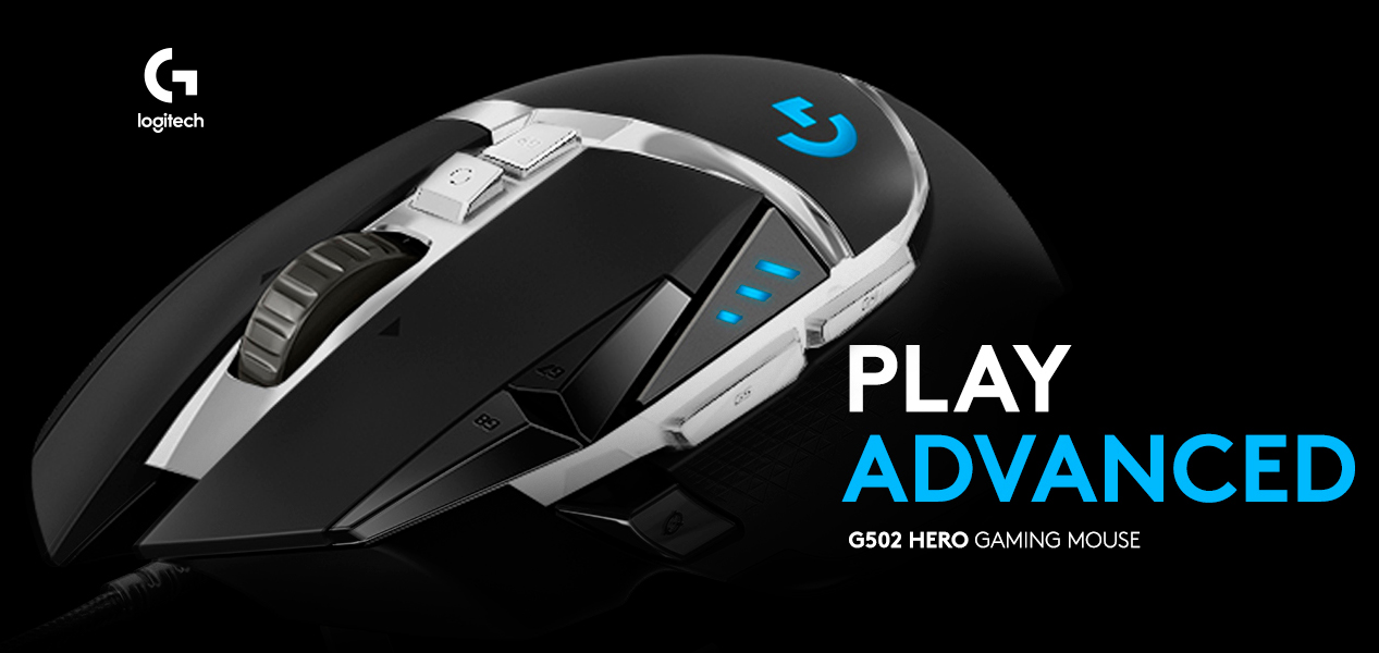 ratón gaming Logitech G502 SE hero