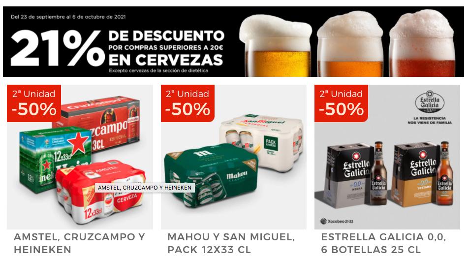 promocion cervezas el corte ingles